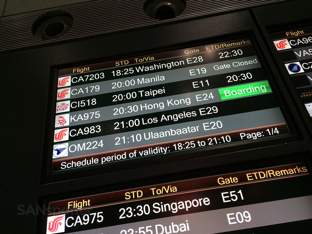 Trip Report Air China Business Class Beijing To Los