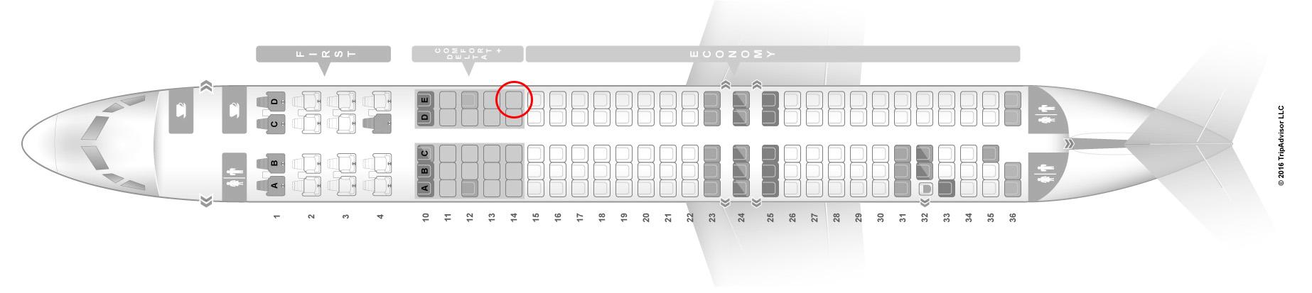 Delta Air Lines Md 88 Comfort Premium Economy West