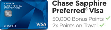 Chase Sapphire Preferred Visa Card