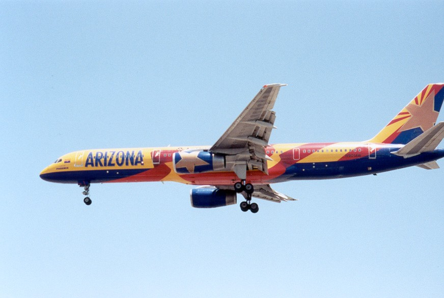 America West 757-200 Arizona Livery