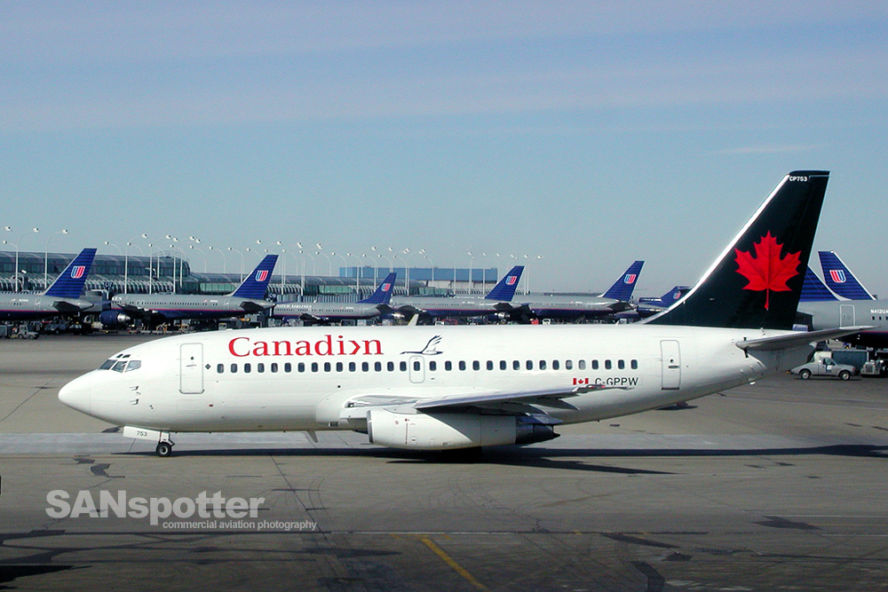 Canadian Airlines 737-200 Hybrid Livery