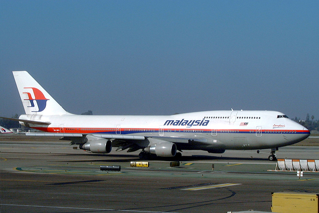 Malaysia Airlines 747-400
