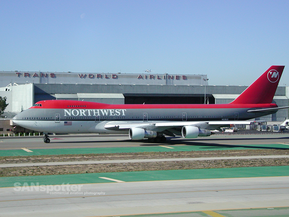Northwest Airlines 747-200