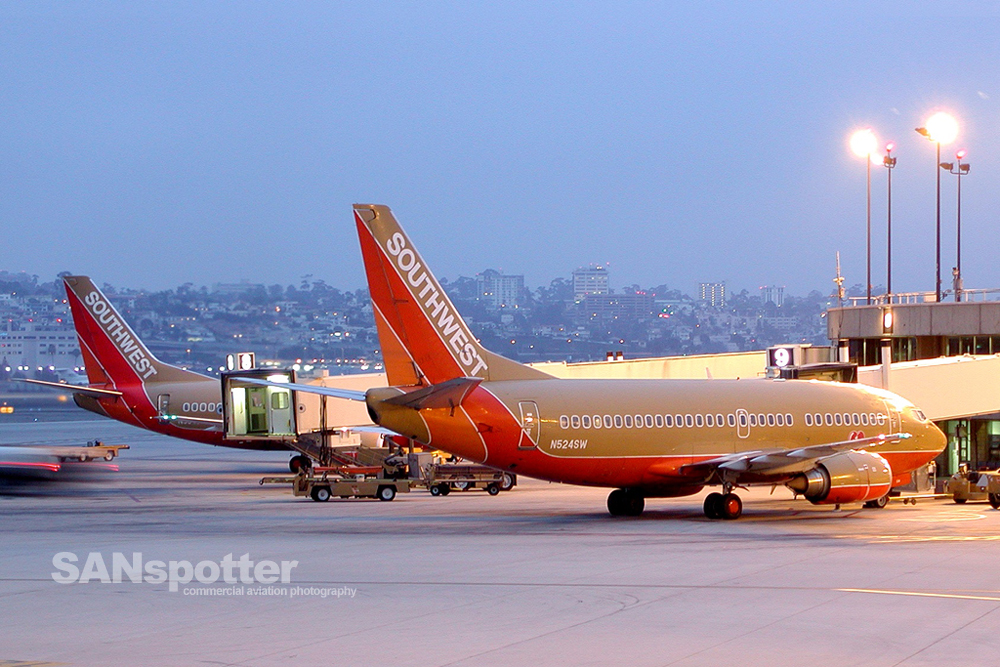 Southwest Airlines 737-500