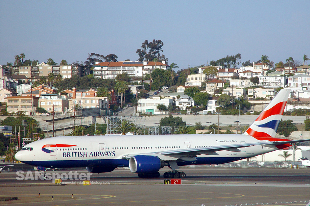 British Airways 777-200