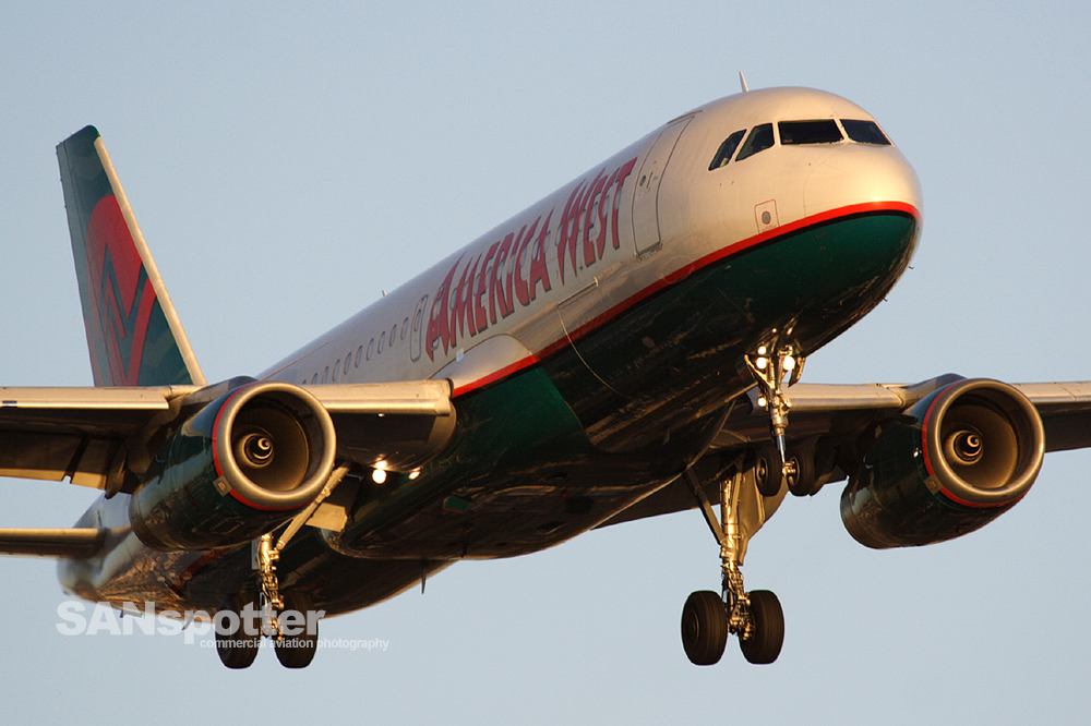 America West A320