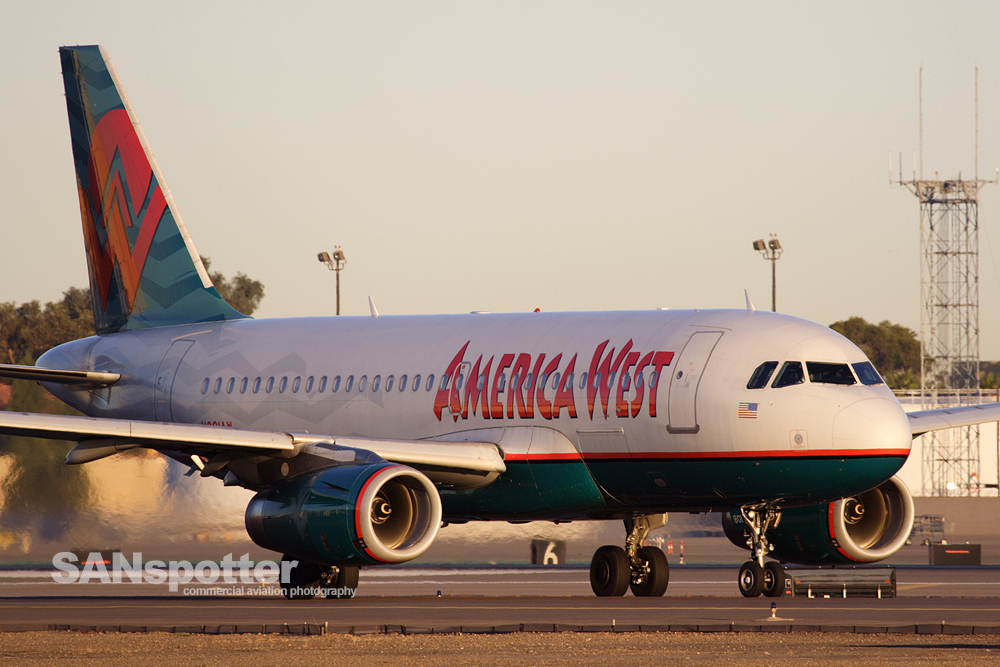 America West A319