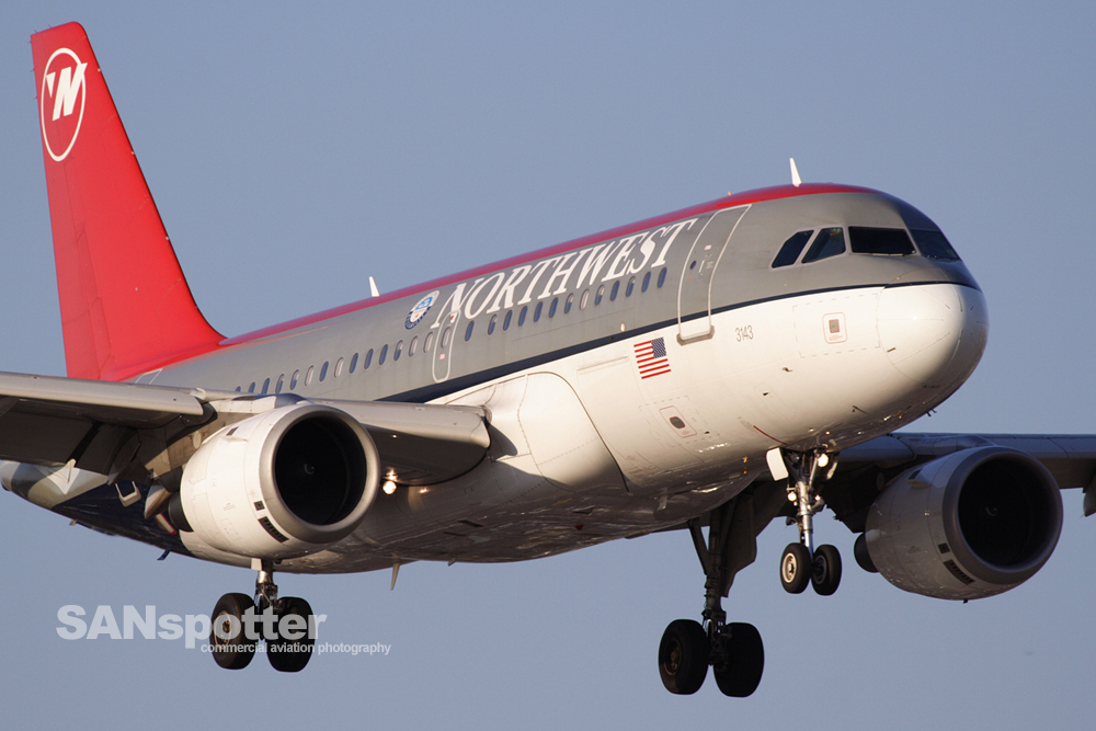 Northwest Airlines A319
