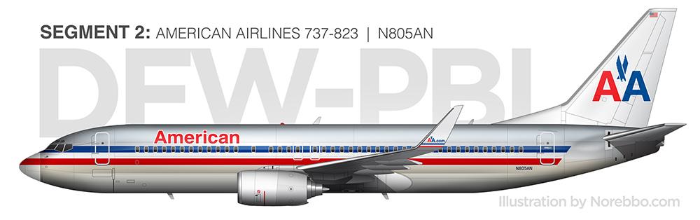 N805AN 737-800