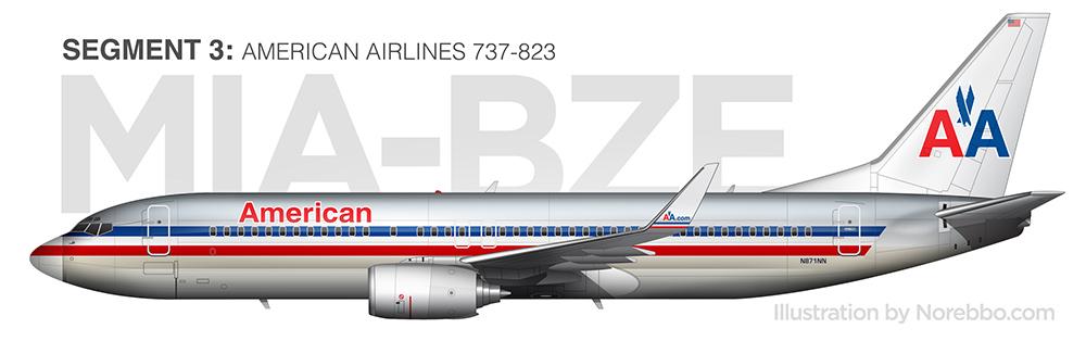 AA 737-800