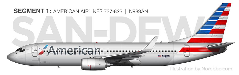 N989AN 737-800
