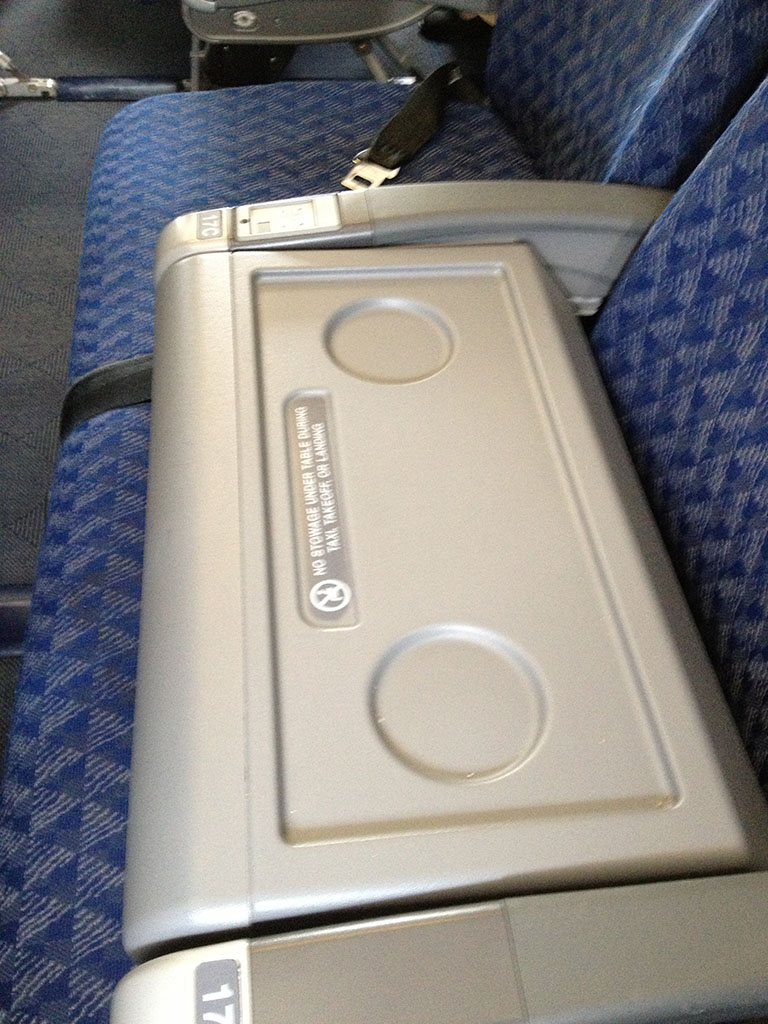 blocked middle seat