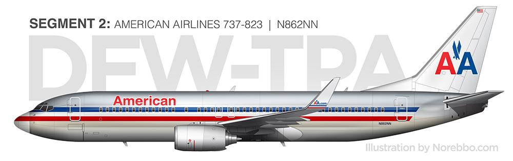 N862NN 737-800