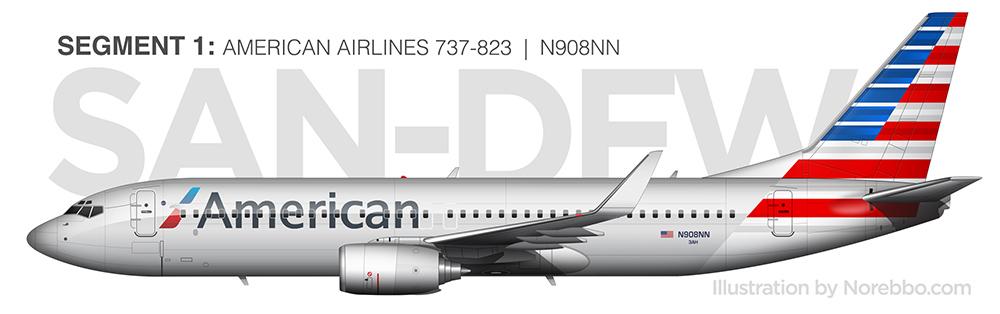 N908NN 737-800