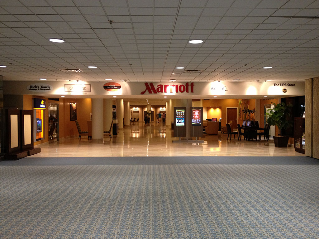 Trip Report Marriott Hotel At Tampa International Airport Sanspotter