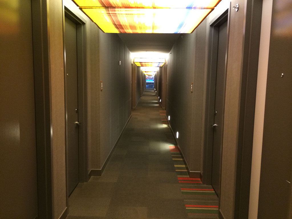 hallway of the aloft hotel phoenix