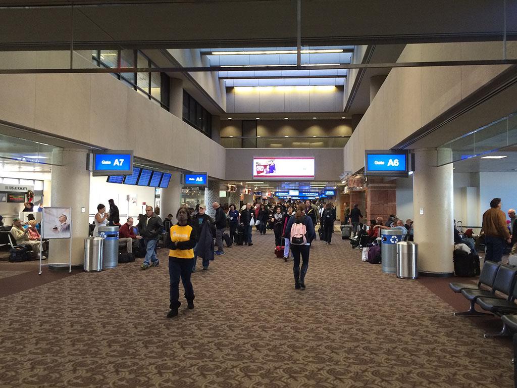 PHX terminal interior