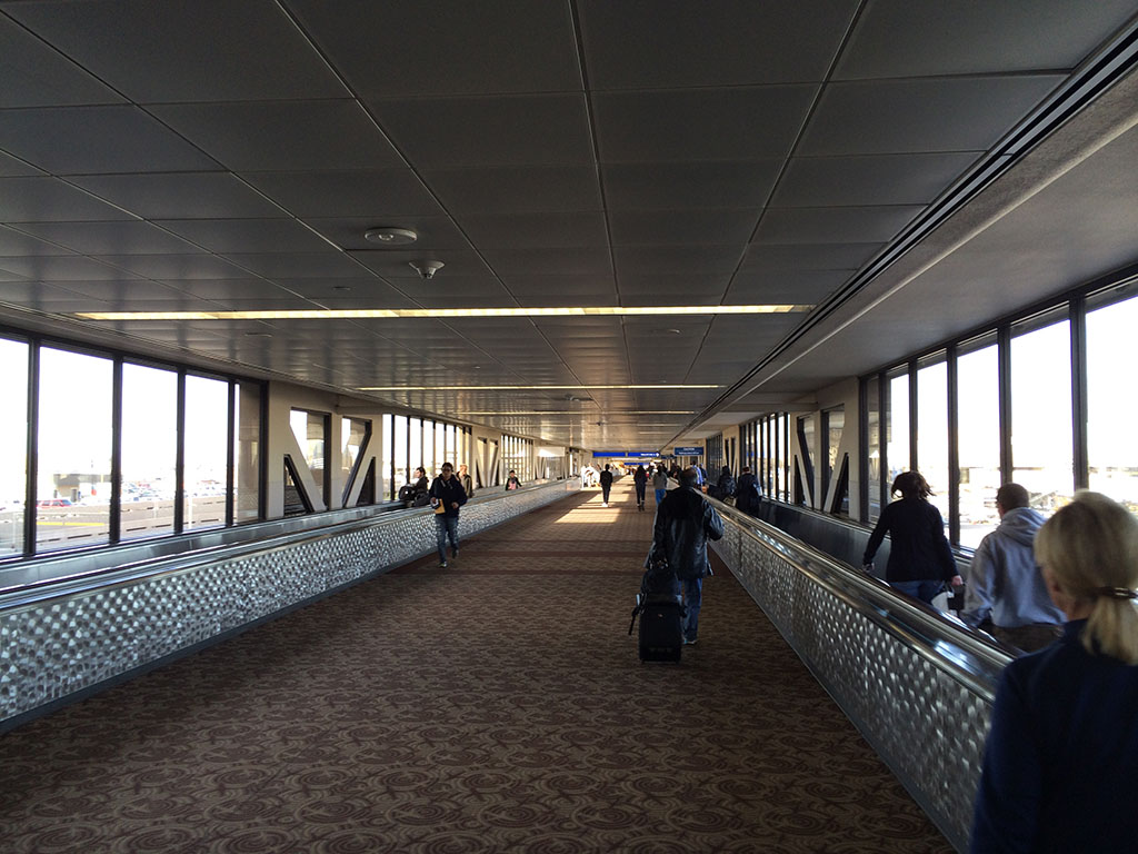 walkway between terminals