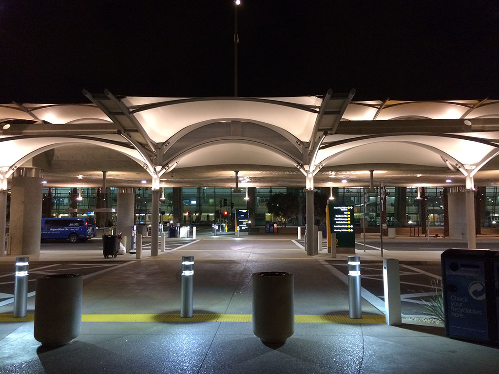 Entrance to T2 West at SAN