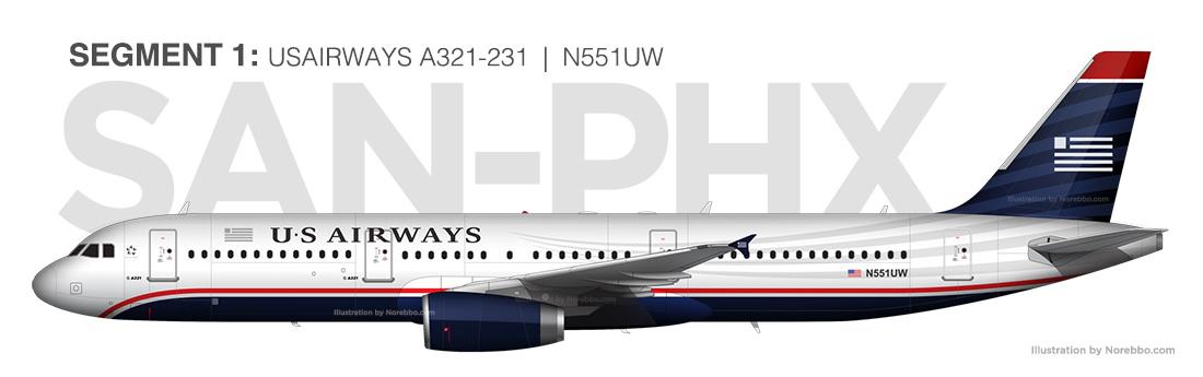 US A321 N551UW