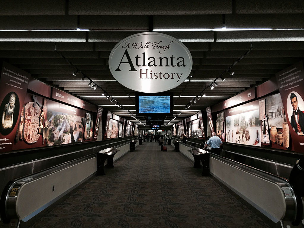 A walk through Atlanta History