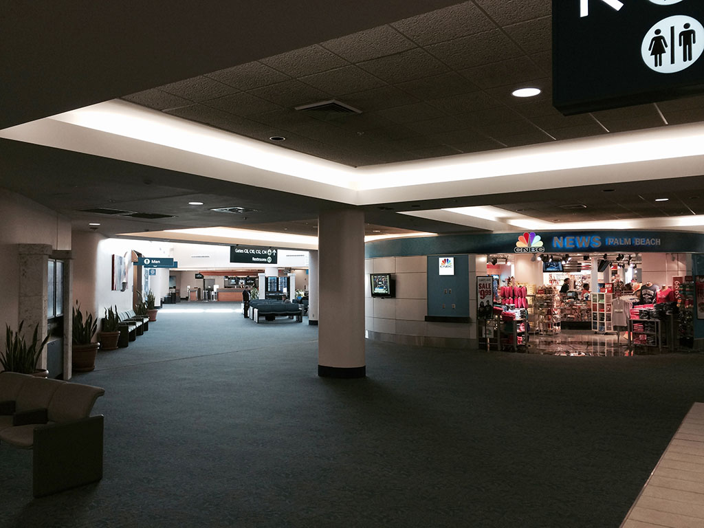 far end of the C concourse