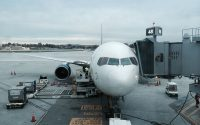 delta airlines 767-300 at san