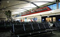 Waiting in the McNamara Terminal at DTW