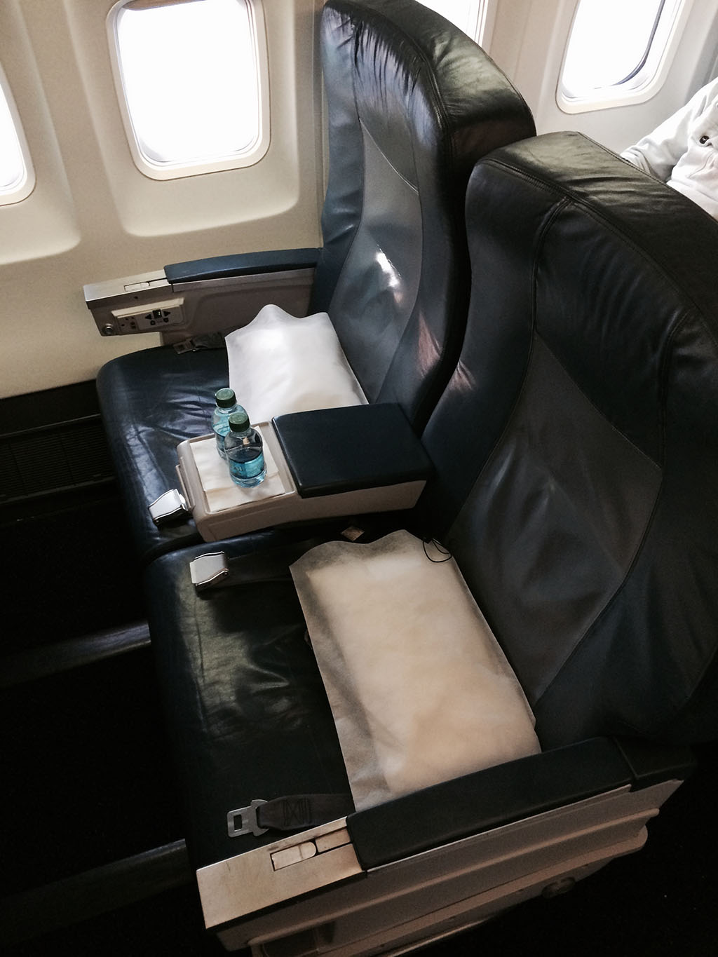 seat 3A in first delta airlines first class