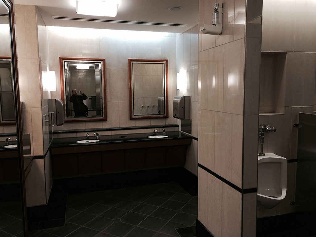 dtw sky club bathroom