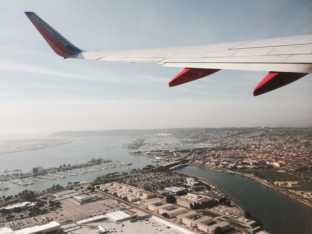 point loma from the air