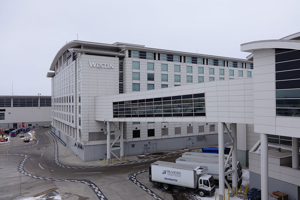 westin DTW from the main terminal