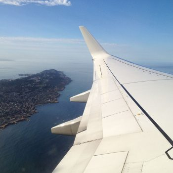 Departing San Diego on an American Airlines 737-800