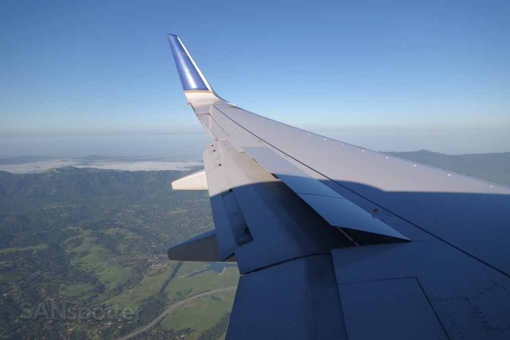 descending into SFO