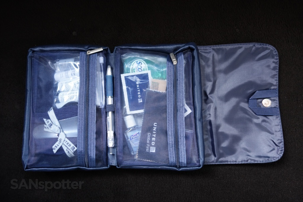 global first amenity kit inside
