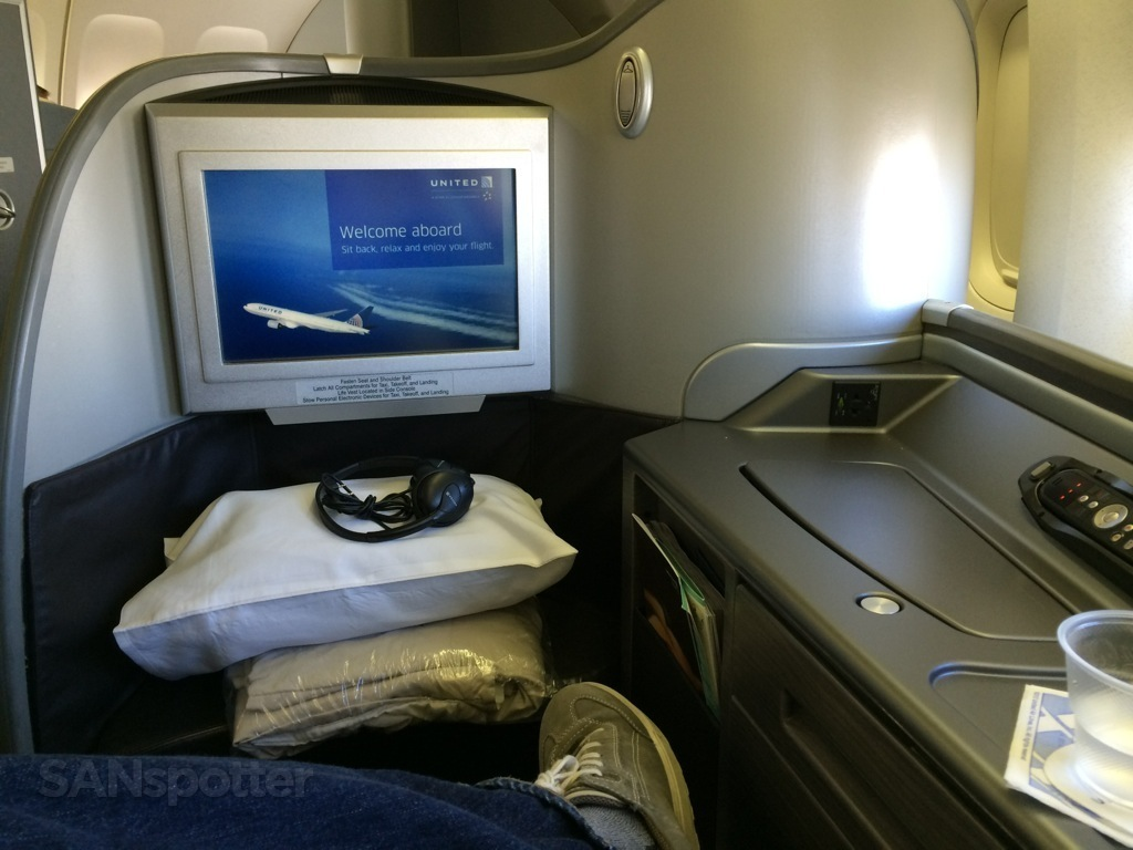 video display in united global first