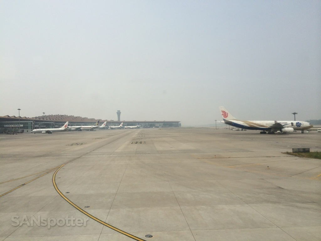 PEK airport in beijing