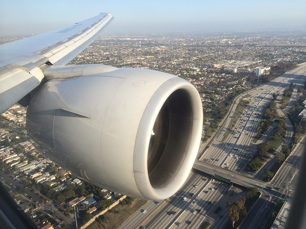 lax 24R approach over the 405