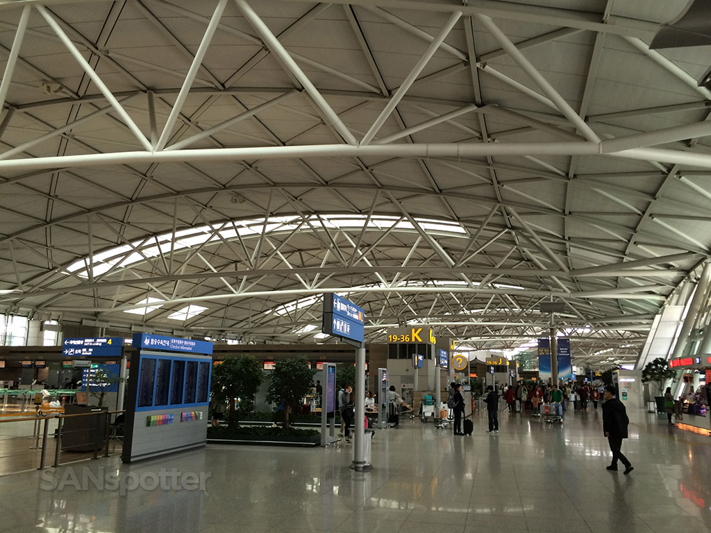 Incheon ticketing hall