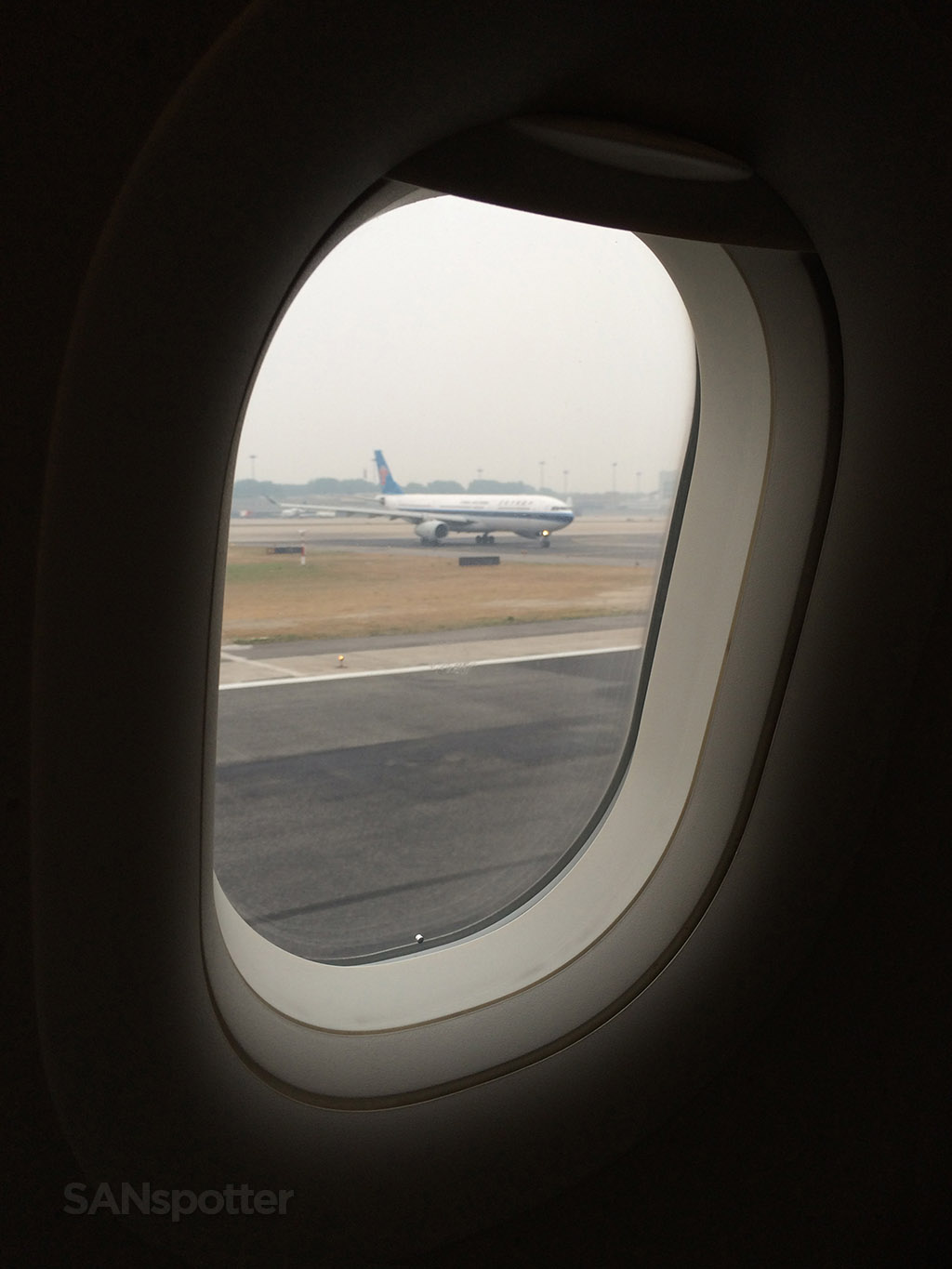 taking off from beijing airport