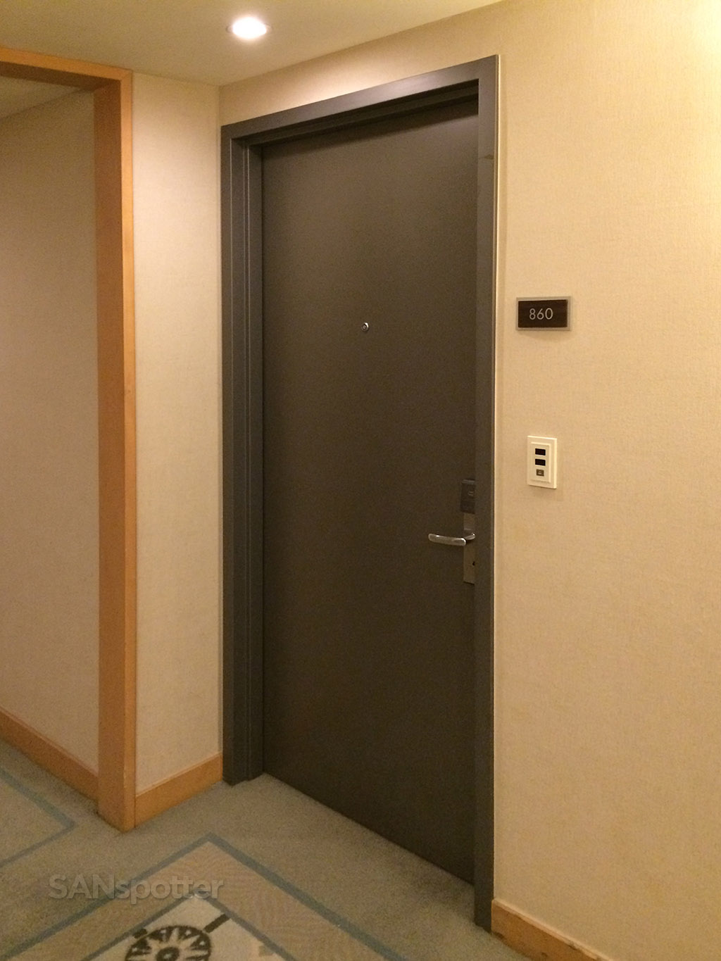 hyatt regency incheon room door