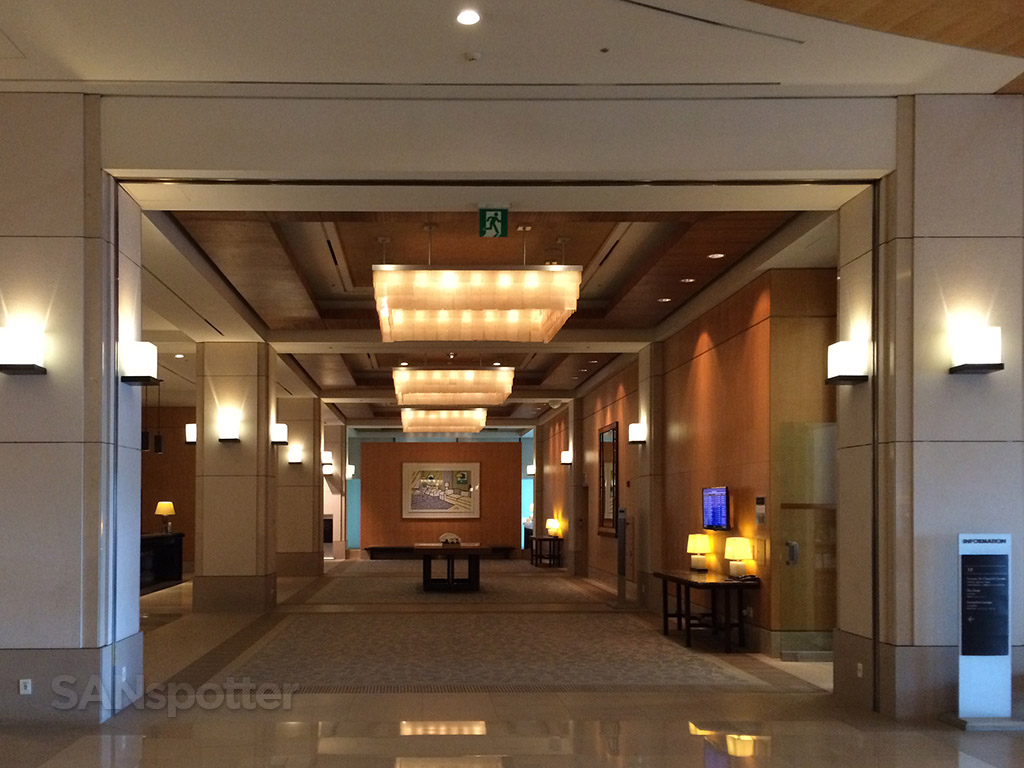 main lobby of the Hyatt Regency Incheon