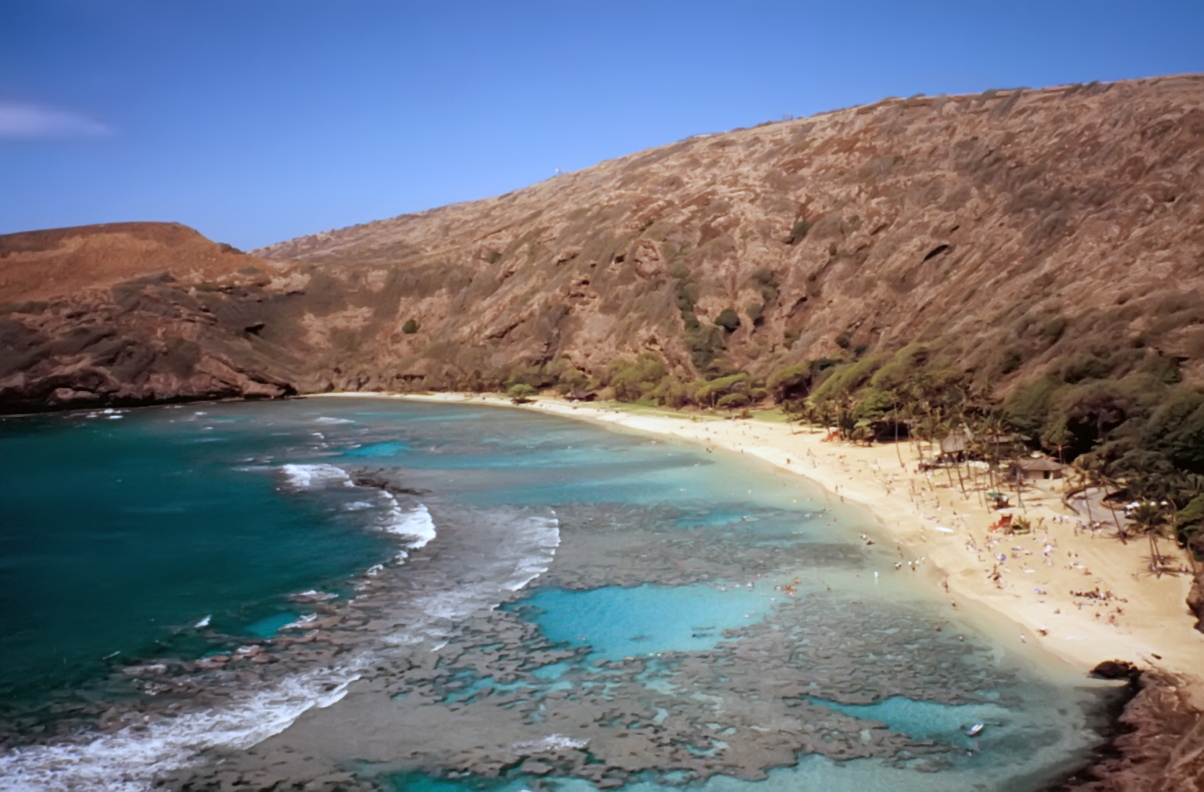 Hanauma Bay on the island of Oahu