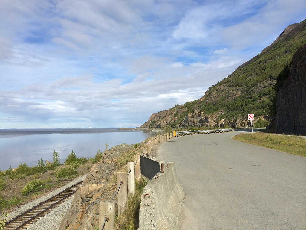 stopping for a break along highway 1