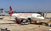 Virgin America A319 at SAN