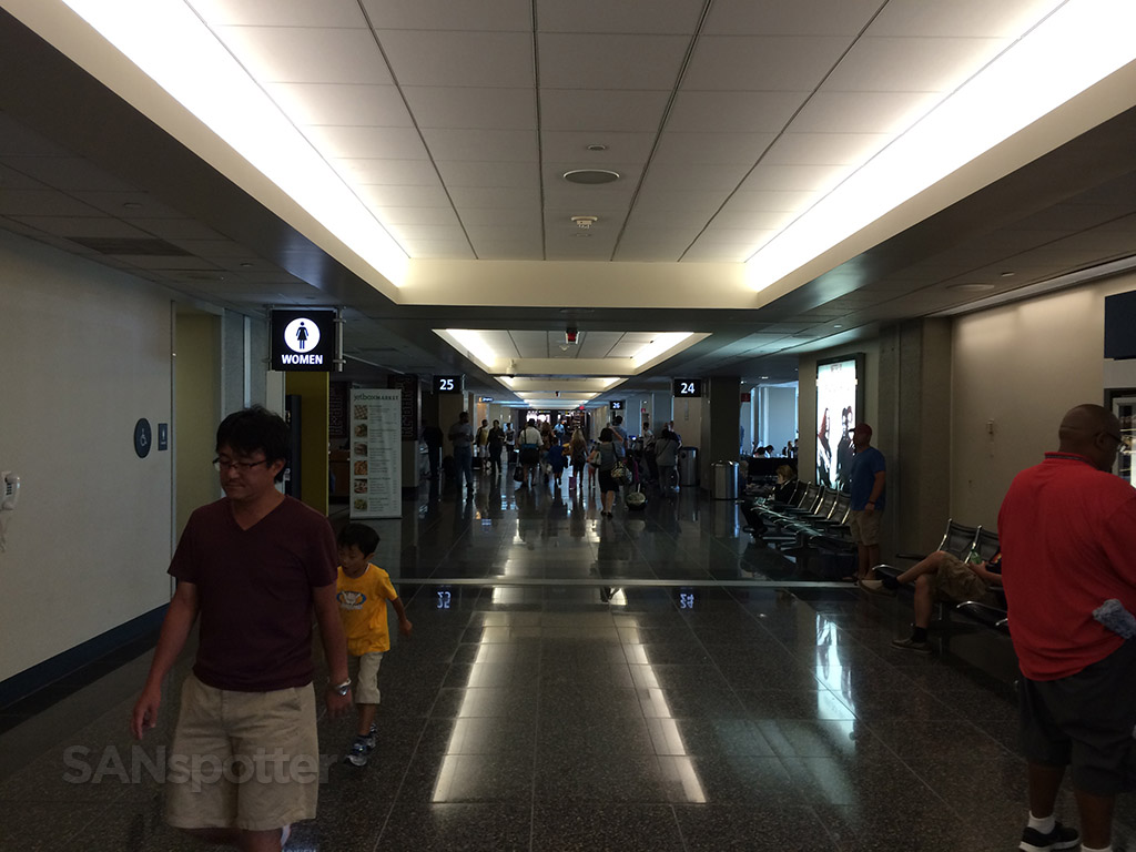 terminal 2 east SAN