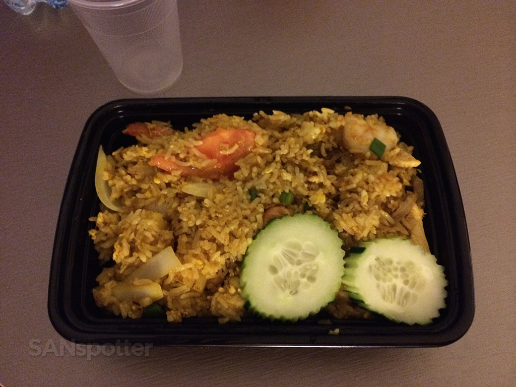 Pineapple fried Rice from Chabaa