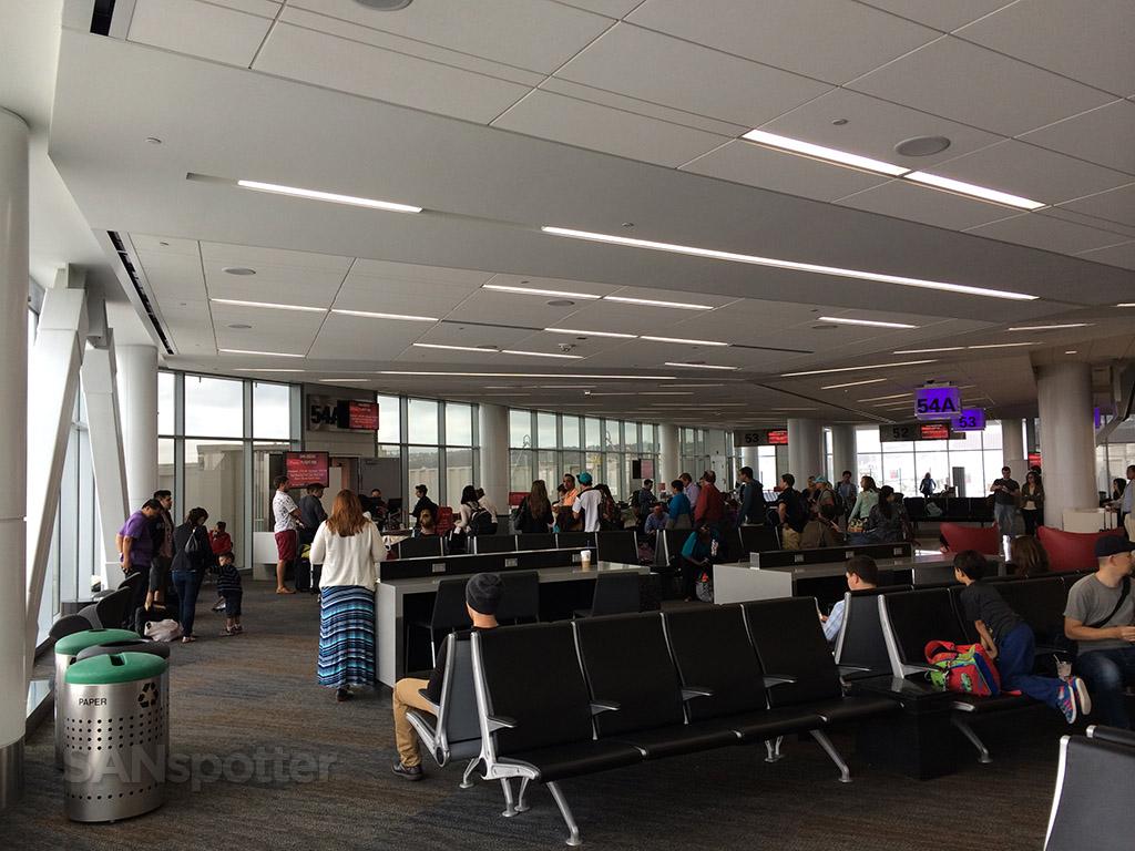 gate 54A in terminal 2 SFO