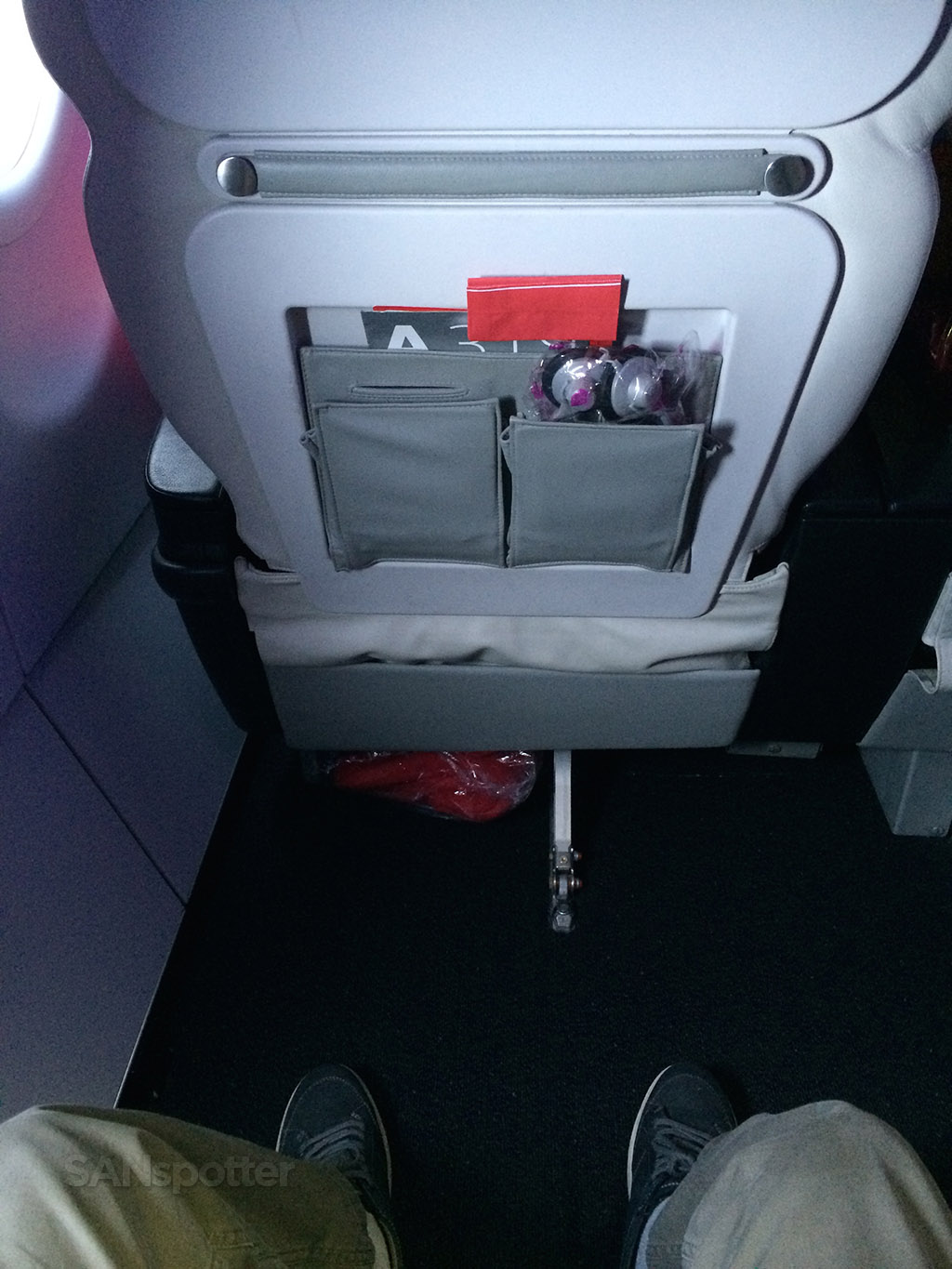 second row legroom up in first class