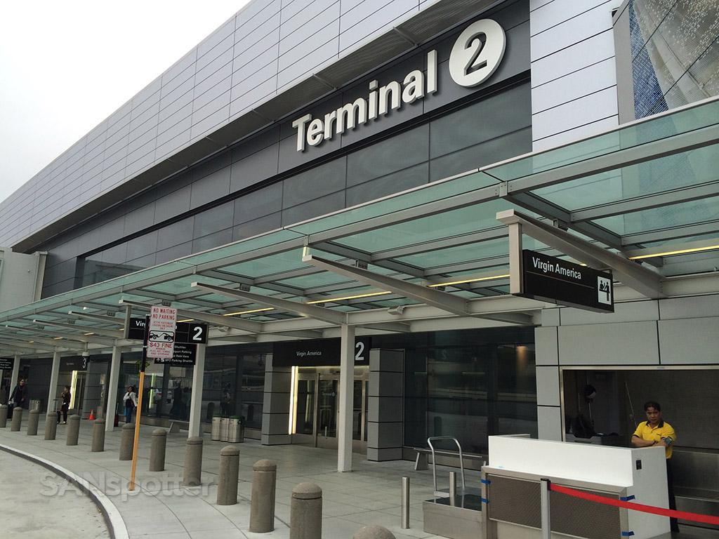 terminal 2 at SFO
